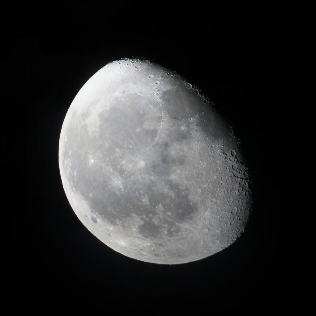 waning gibbous moon la lune gibbeuse d233croissante photo