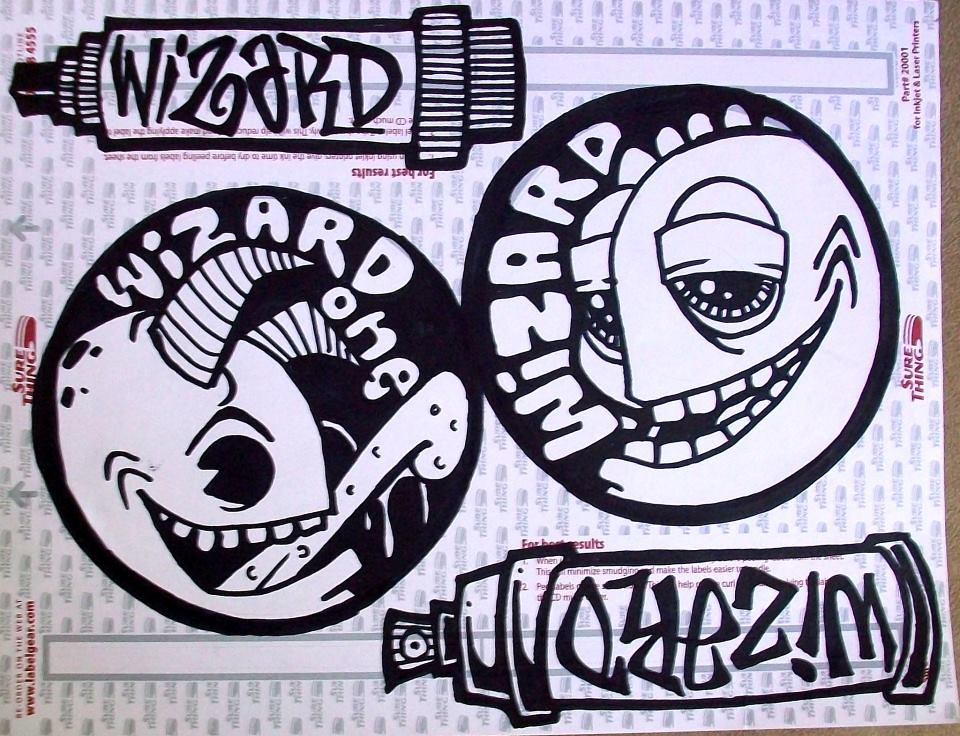 Graffiti Sticker  Dragons stickers  cholowiz13  Flickr