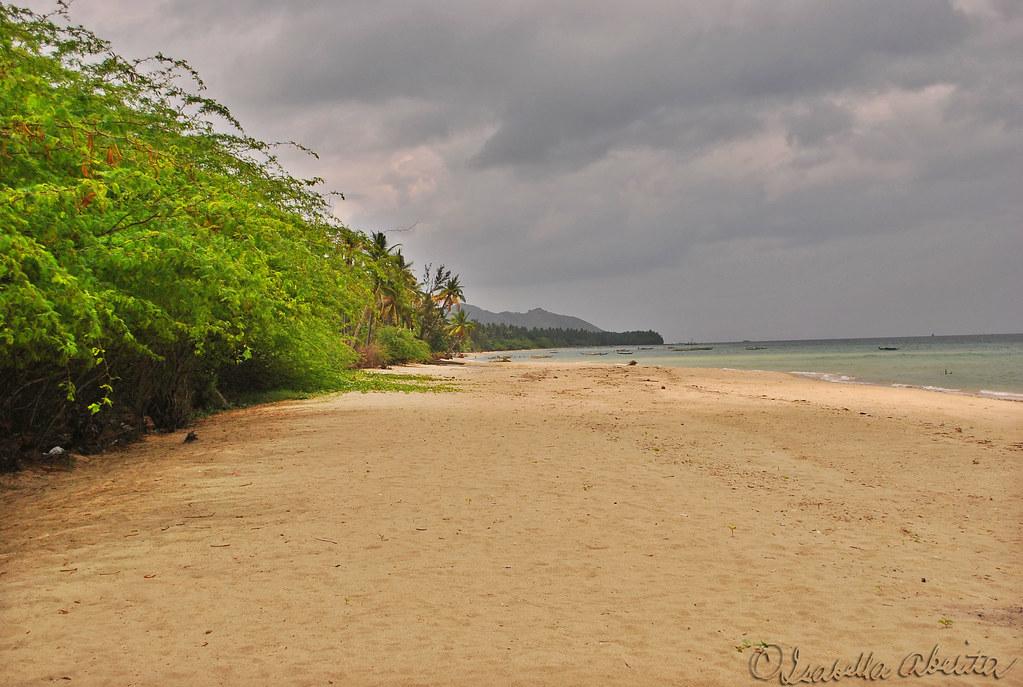 Dao Shoreline Dao Balud Masbate Philippines