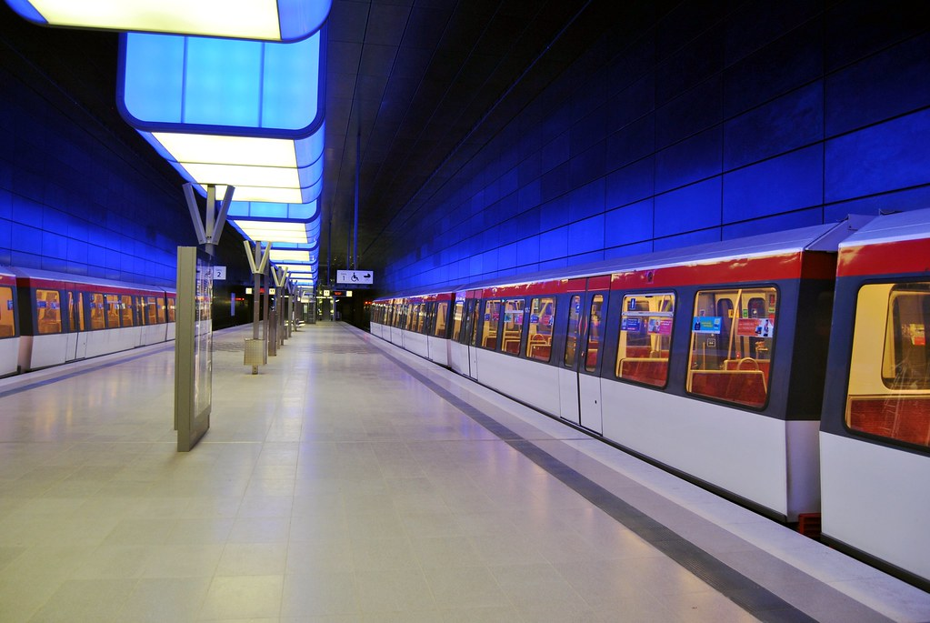 hamburg u bahn station hafencity universit t ii. Black Bedroom Furniture Sets. Home Design Ideas