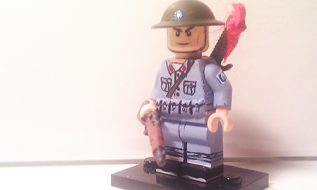 Lego Custom Minifigure WWII Nationalist Chinese Marco Polo… | Flickr