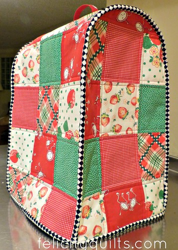 Food Processor Cover Blogged Here Felicity Quilts
