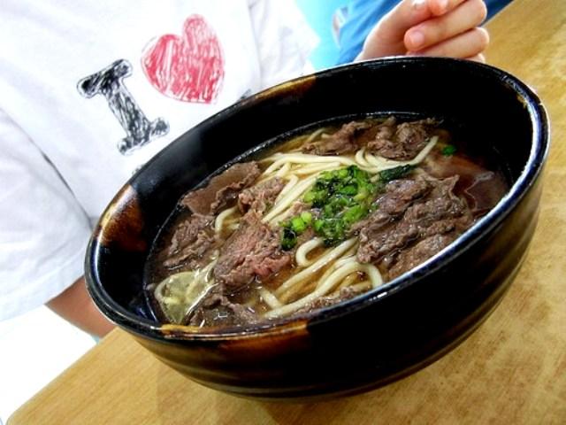 Ah Sian beef noodles soup