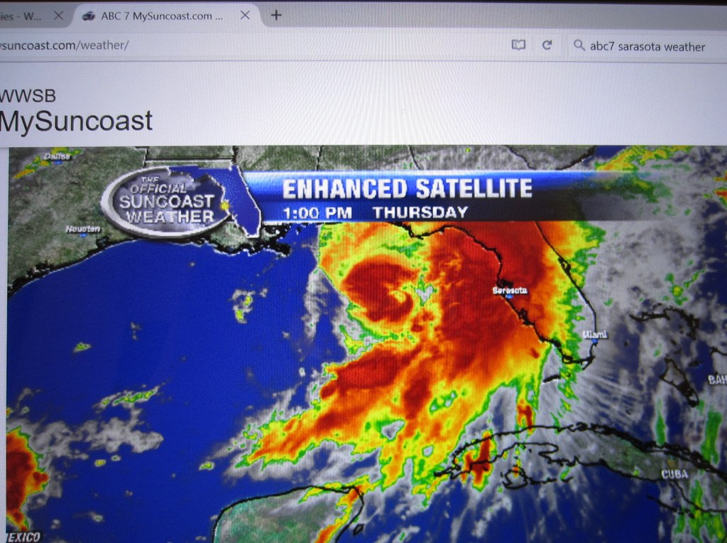 Sarasota Weather Map Tropical Storm Hermine At 13 00h On 0 Abby