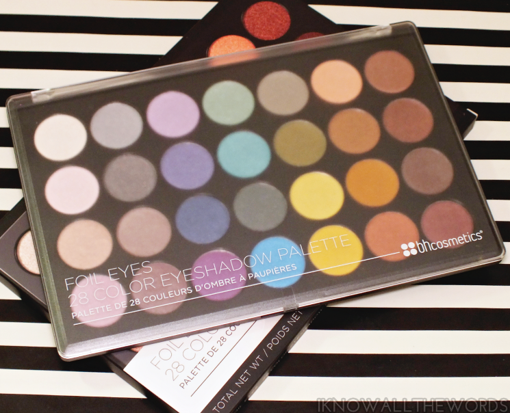 BH foil eyes 28 colour eyeshadow palette (2)