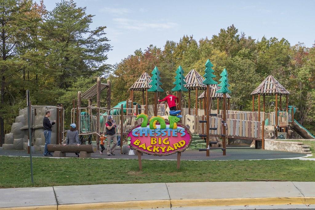 Big Backyard chessie's big backyard - fairfax, va | this expansive playwo… | flickr