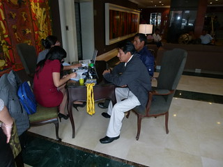 Visita a Pachacamac-I TALLER INTERNACIONAL - 2012, LIMA PERU