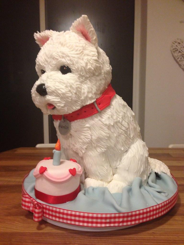 Westie Dog Cake West Highland Terrier Dog Cake The