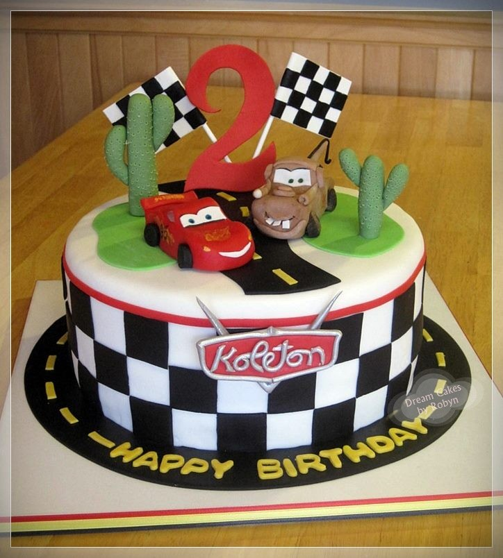Cars Cake  wwwfacebookcom#!pagesDreamCakesbyRobyn  ~ 234811_Cake Decorating Ideas Tesco