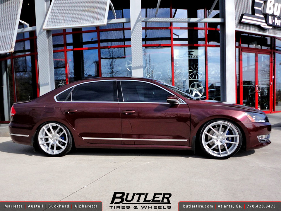 Vw Passat With 20in Niche Targa Wheels Additional