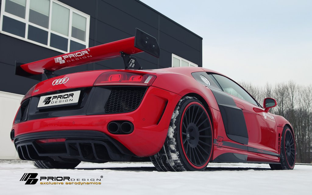 Audi R8 Prior Design Pd Gt650 Aero Kit Audi R8 Prior