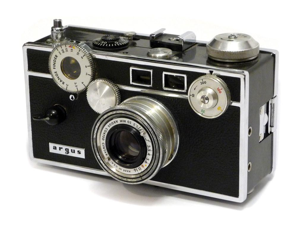 argus c3 7th version rangefinder camera made in ann arbo flickr. Black Bedroom Furniture Sets. Home Design Ideas