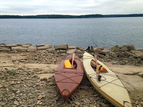 Camping and kayak fishin on Stockton Lake, August 5-6, 2016
