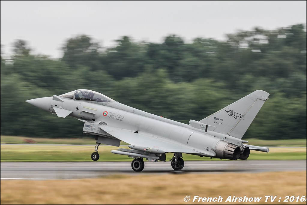 Eurofighter Italian ,Belgian Air Force Days 2016 , BAF DAYS 2016 , Belgian Defence , Florennes Air Base , Canon lens , airshow 2016