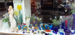 Kaikkea lasista  - Glass shop window, Ribe Denmark