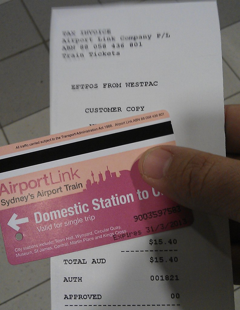weekly ticket sydney - photo#14