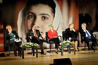 "UN Women Executive Director Michelle Bachelet at the ""Stand up for Malala: Girls' education is a right"" event at UNESCO Headquarters 