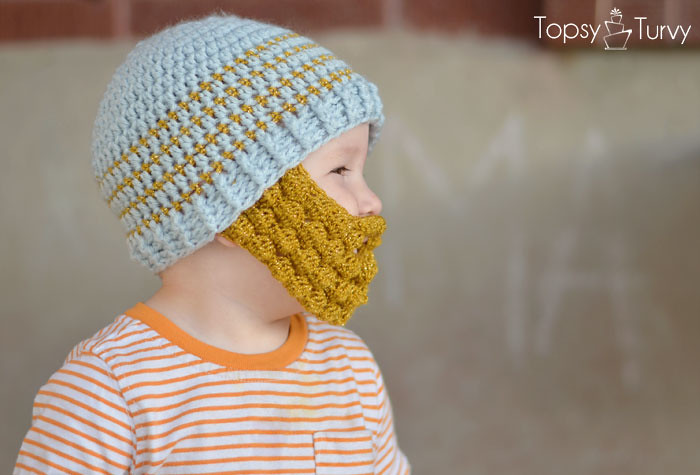 Bobble Bearded Beanie Pattern Extra Small Medium Large Fre Flickr