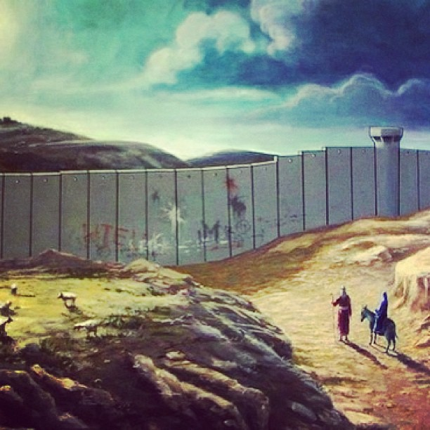 "#Banksy #Christmas Card: ""If #Jesus Were To Come This Year"