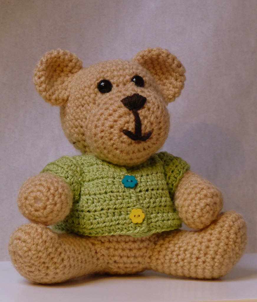 Free Crochet Patterns For Teddy Bear Sweaters : Teddy Pattern by Little Abbee Patterns.com An Flickr