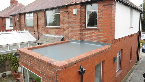 Small Extension Flat Roof In St Helens Small Flat Roof