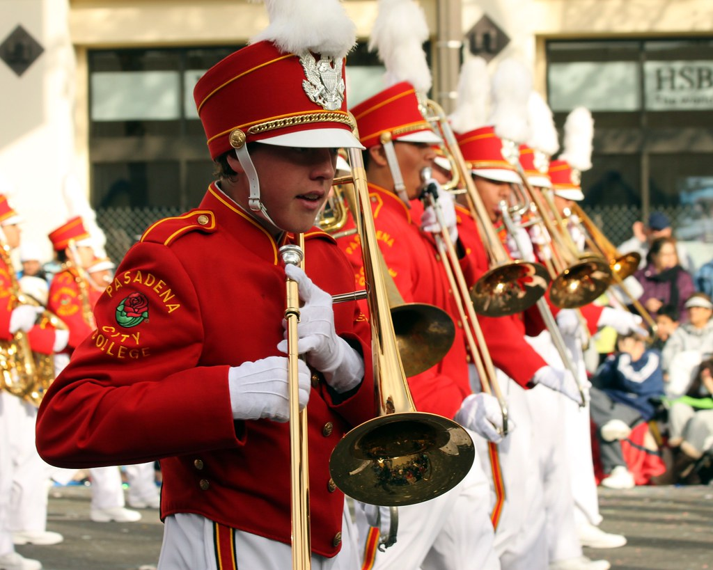 Trombone Line | Pasadena City College Honor Marching Band. 2 ...