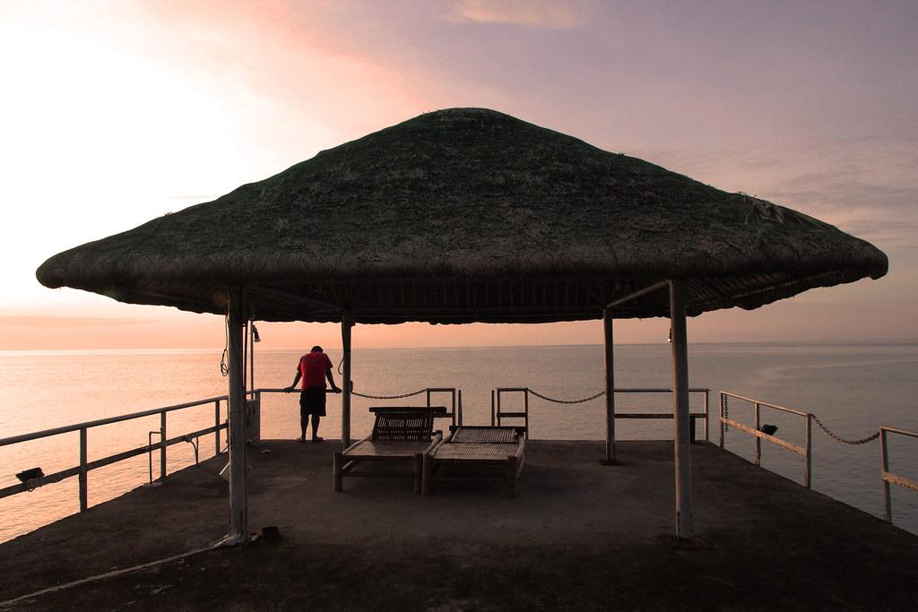 Beach Nipa Hut Nipa Hut Laiya Beach in San