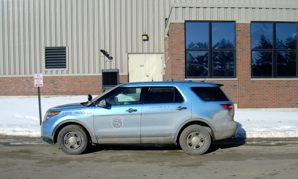 Maine State Police Maine State Police Ford Explorer