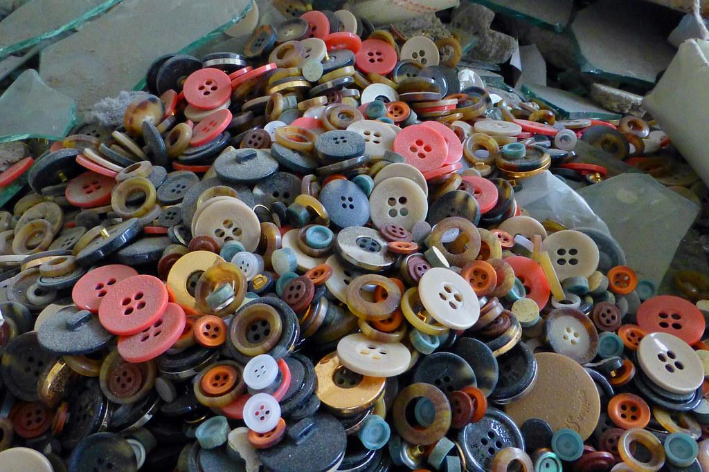 Abandoned Button Factory Longhua Shenzhen China Button