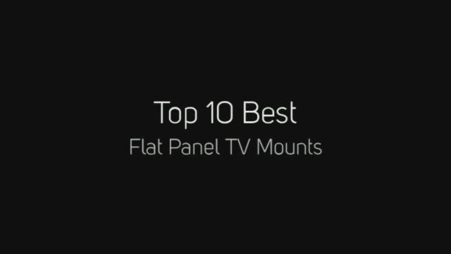 Top 10 Best Flat Panel Tv Mounts 1 Sanus Vmpl50b