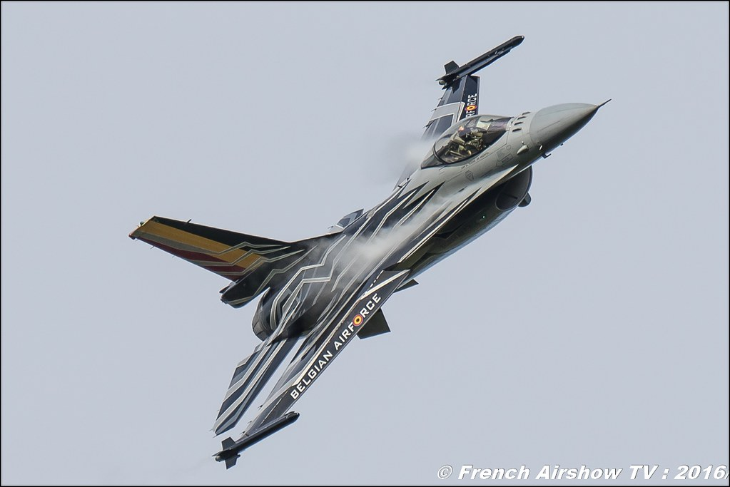 F-16 Solo Display BAF,Belgian Air Force F-16 Solo Display - F-16 Solo Display Team ,Belgian Air Force Days : Florennes 2016