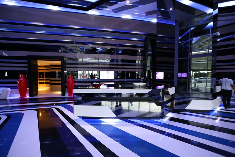W Dubai Al Habtoor City lobby