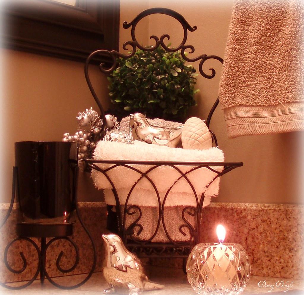 Bathroom Counter Decor dining delight Flickr