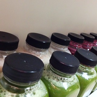Juice fast - bottled cold press love | by happykatie
