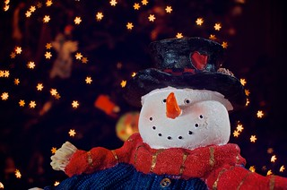 356/365 - Snowman by 'Starlight' | by djwtwo