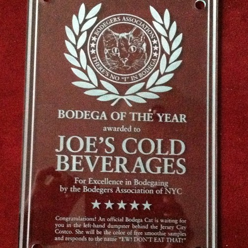 Look! @joegarden's cubicle store won Bodega of the Year by the Bodegers Association! #Crafts #DIY | by Colleen AF Venable