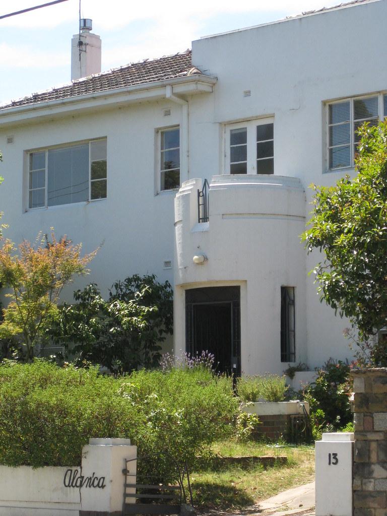 Alan 39 ca a streamline moderne art deco mansion north ca flickr - Deco moderne flat ...