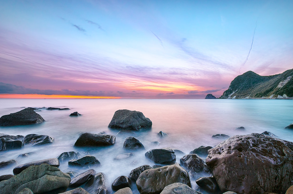 Sunset At Ihama Rocky Beach Explore Explored 04 Jan