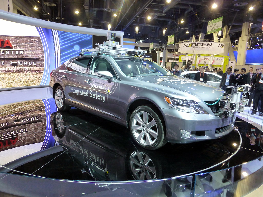 Toyota Self Driving Car Consumer Electronics Show Ces
