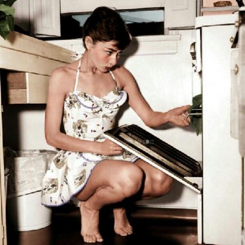 Audrey Hepburn Color Kitchen