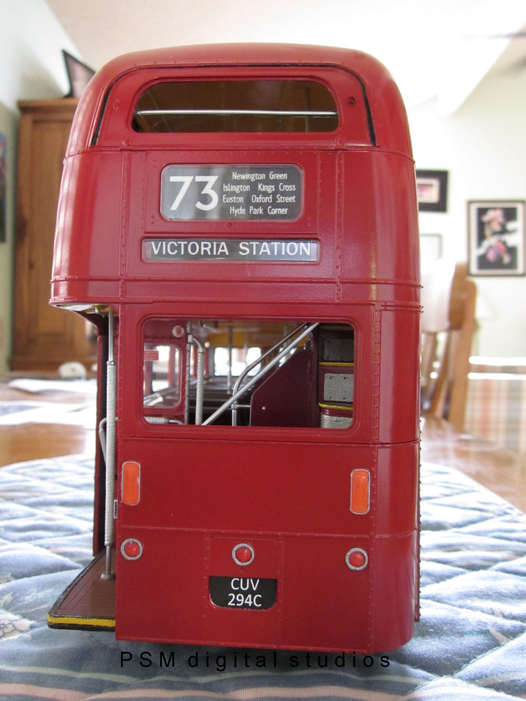 revell 1 24th scale routemaster double decker bus build re flickr. Black Bedroom Furniture Sets. Home Design Ideas