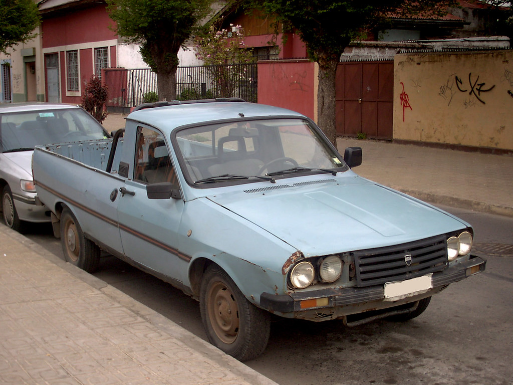 dacia 1410 pick up 1990 renault 12 rl gnzlz flickr. Black Bedroom Furniture Sets. Home Design Ideas