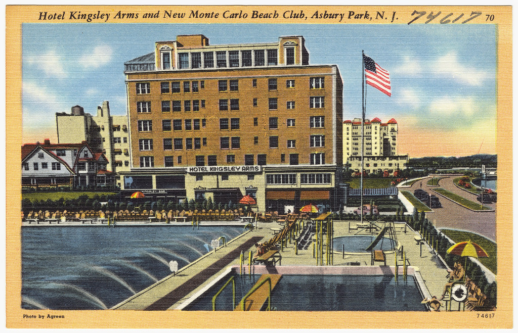 Asbury Park Beach Houses Old Pictures