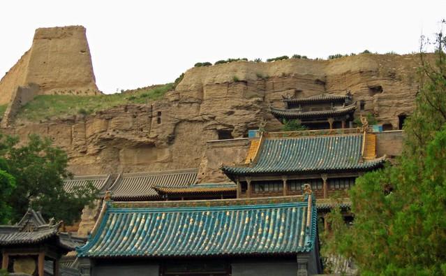 Grutas del Yungang en Datong (China)