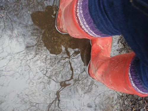 wet welly walk | by little nollie
