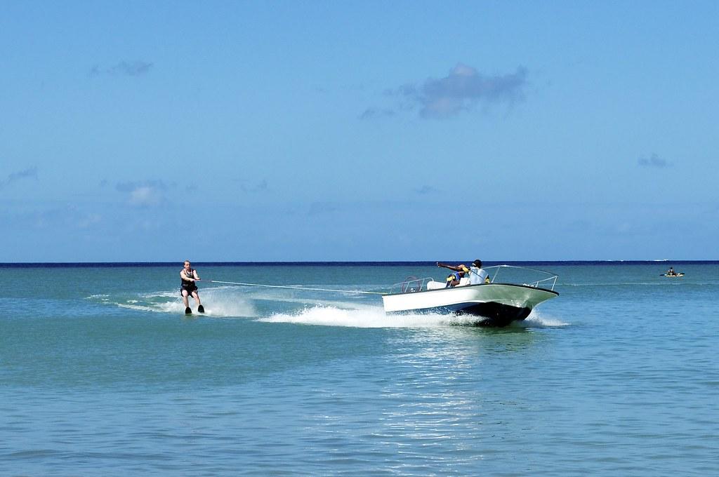 Water Skiing Morgan Bay St Lucia Steve Walker Flickr