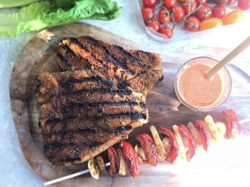 veal steaks