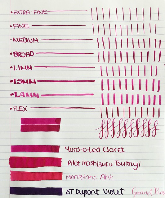 Ink Shot Review Yard-O-Led Claret @deRoosTwit 4