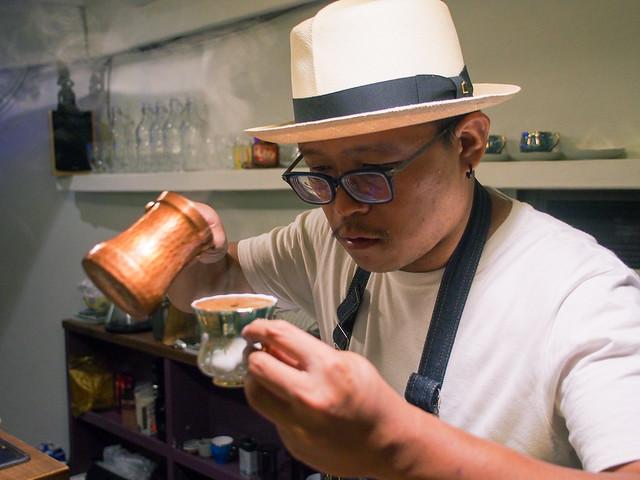 台北/大安–瀟灑異國風情,獨步的土耳其咖啡–Kopi Ibrik