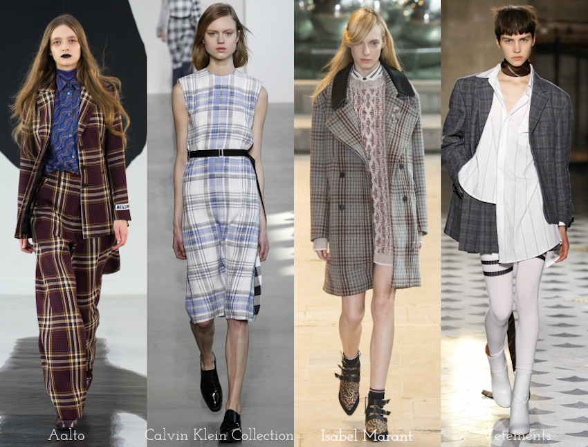 Trend Report: A/W 2016: checks